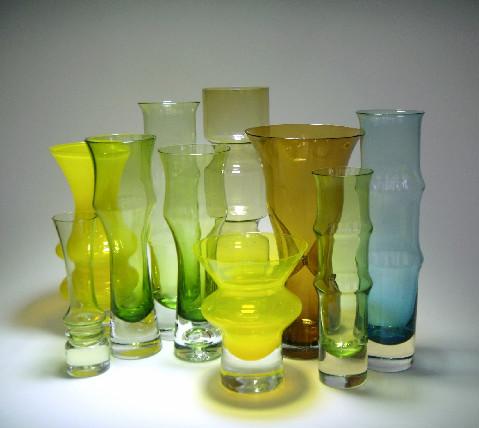 vases by Bo Borgstrom for Aseda
